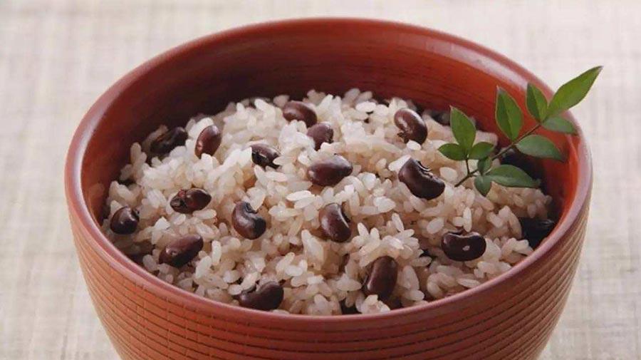 赤豆糯米饭